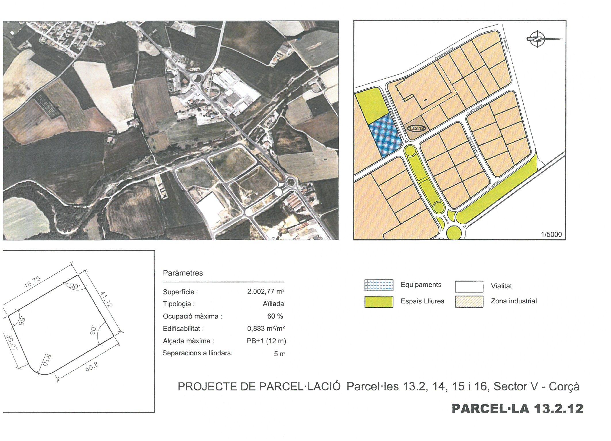 Terme municipal de Corcà, parcel•la 13.2.12 (RESERVADA)