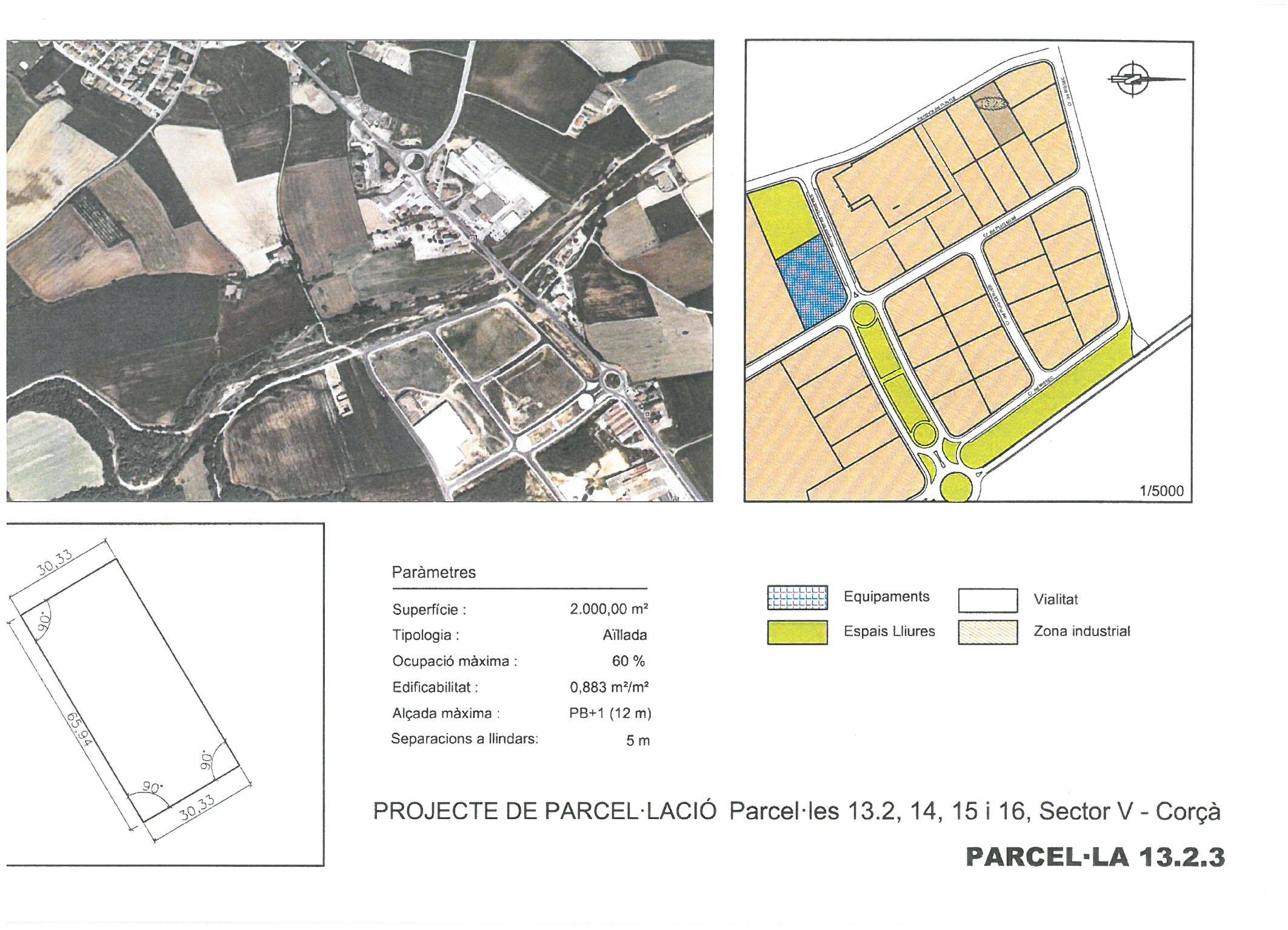 Terme municipal de Corcà, parcel·la 13.2.3 (RESERVADA)