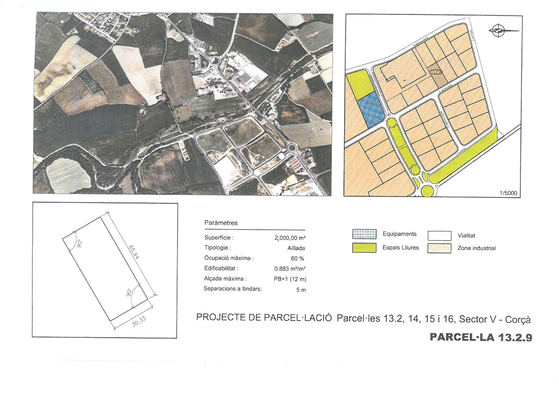 Terme municipal de Corcà, parcel•la 13.2.9
