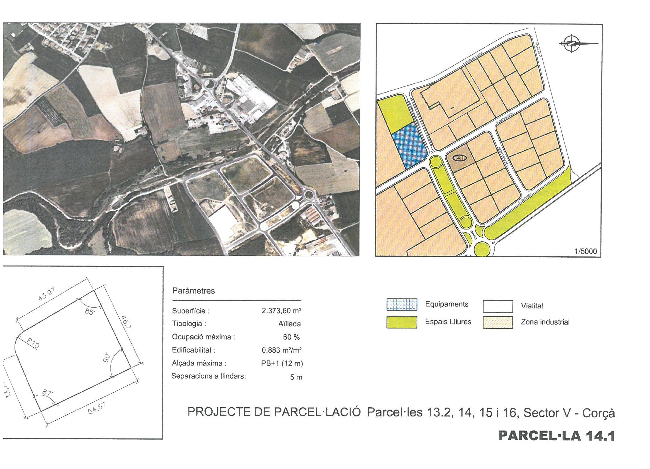 Terme municipal de Corcà, parcel•la 14.1