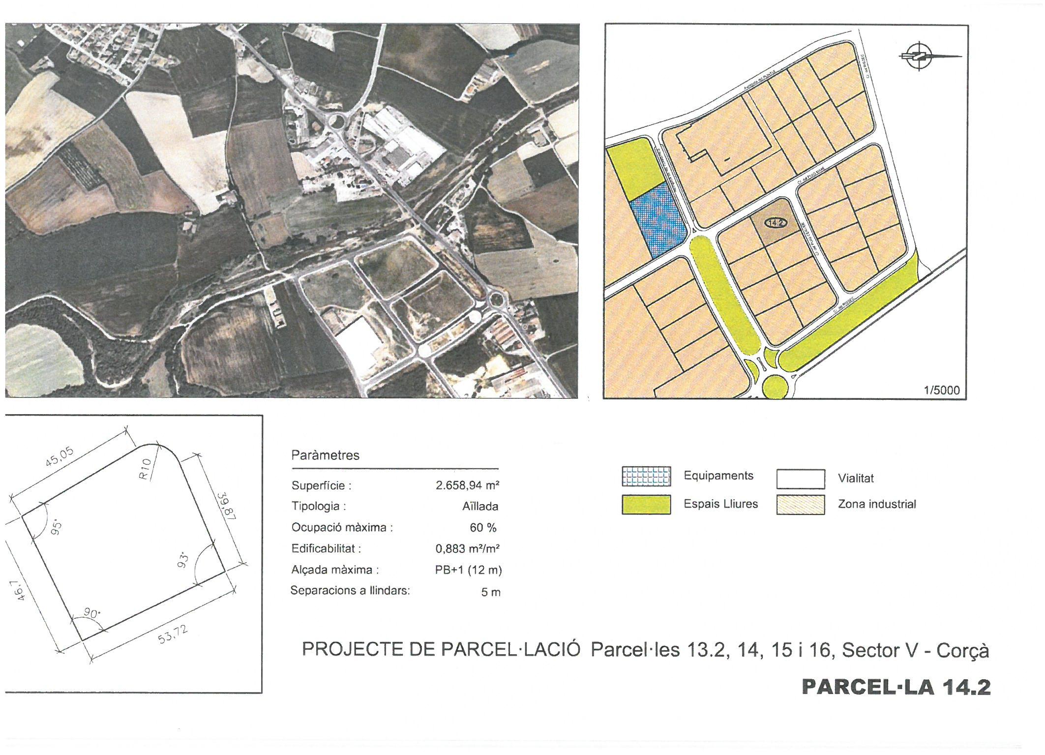 Terme municipal de Corcà, parcel•la 14.2