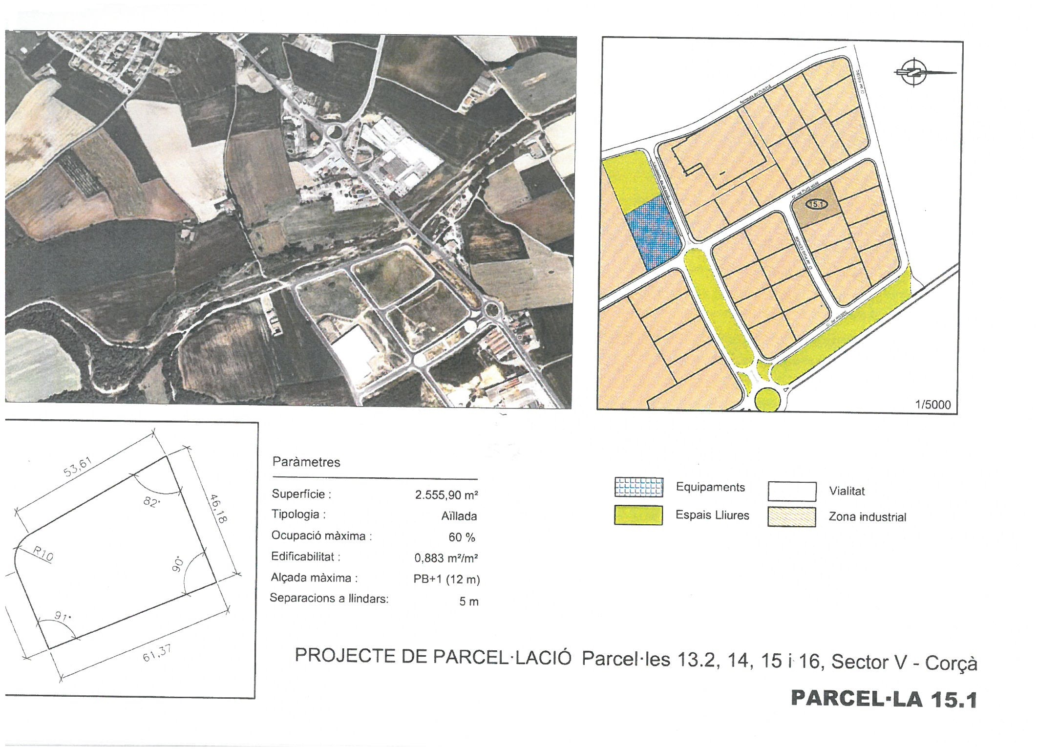 Terme municipal de Corcà, parcel•la 15.1