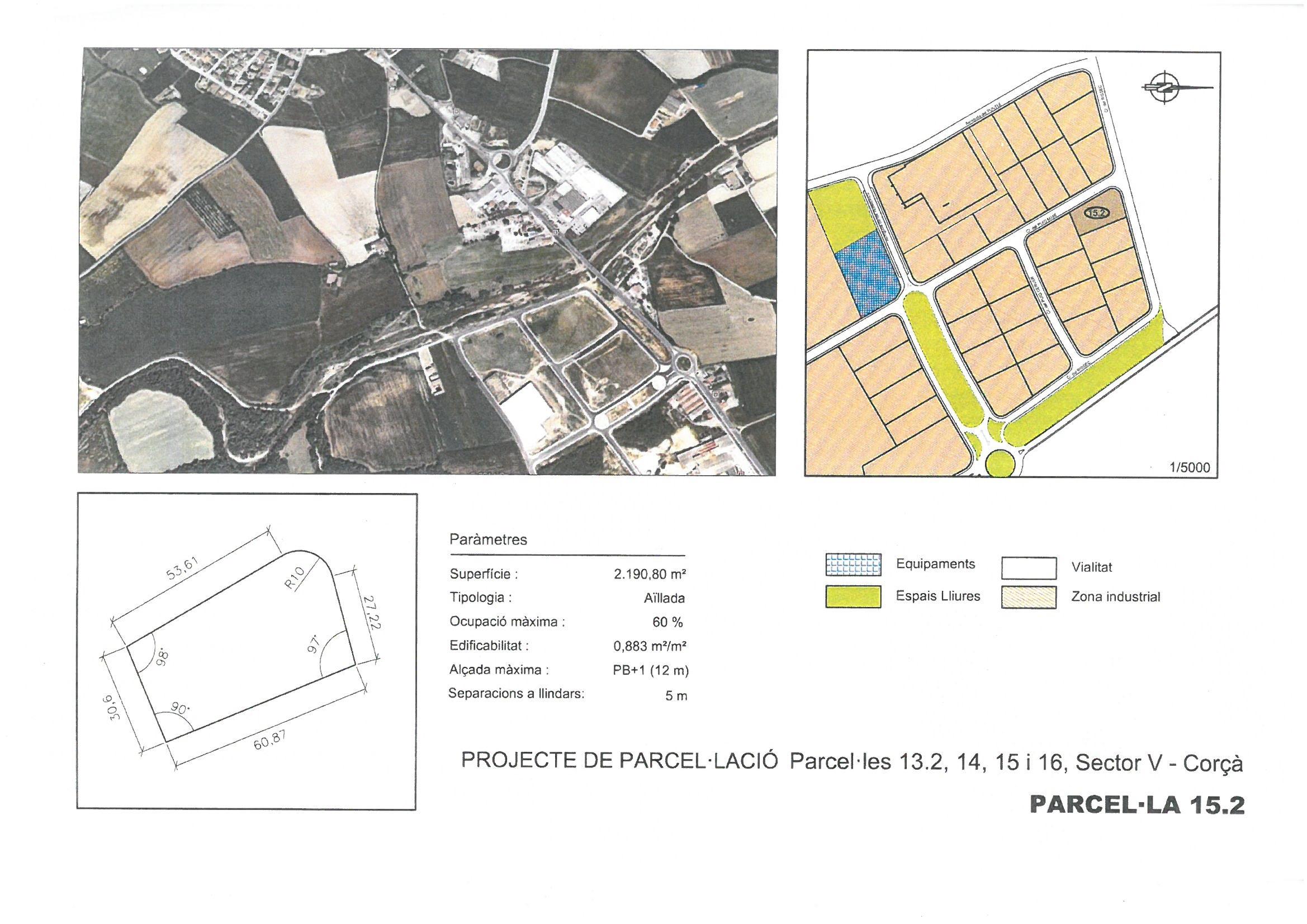 Terme municipal de Corcà, parcel•la 15.2