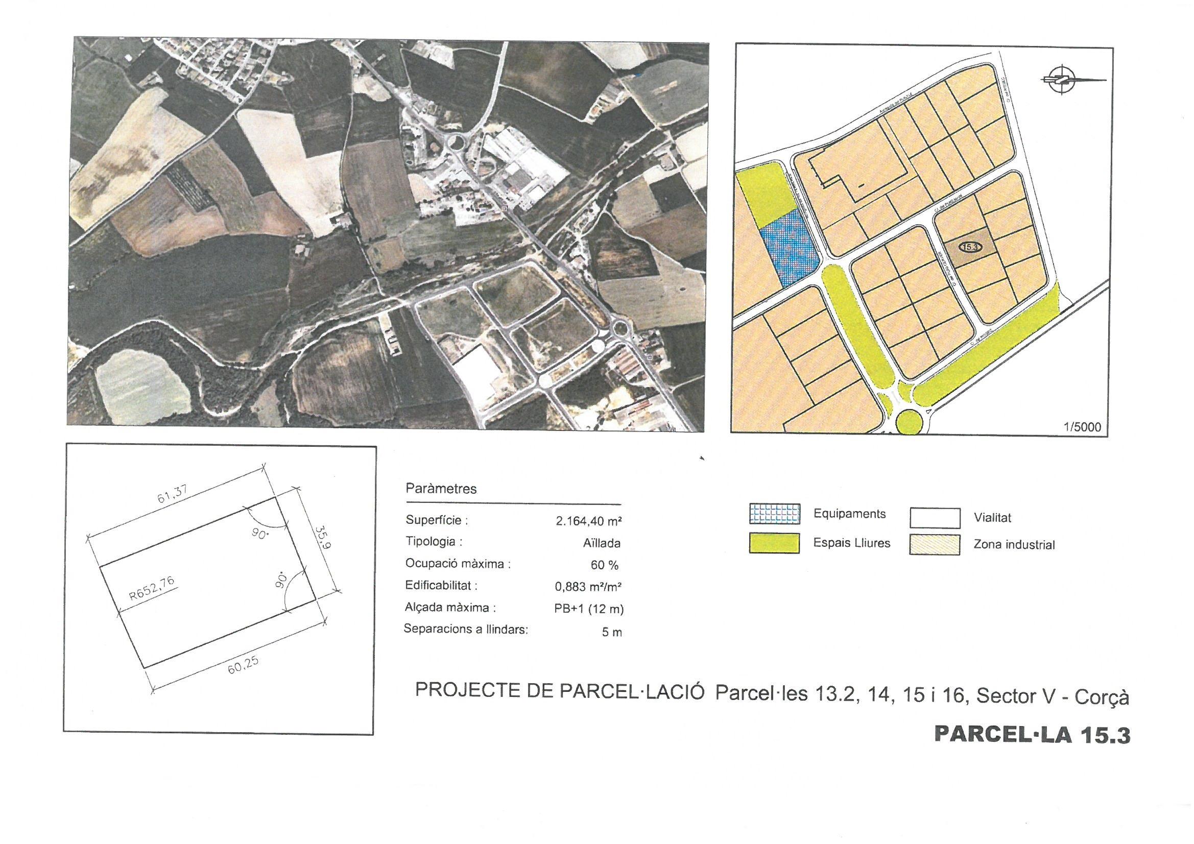 Terme municipal de Corcà, parcel•la 15.3