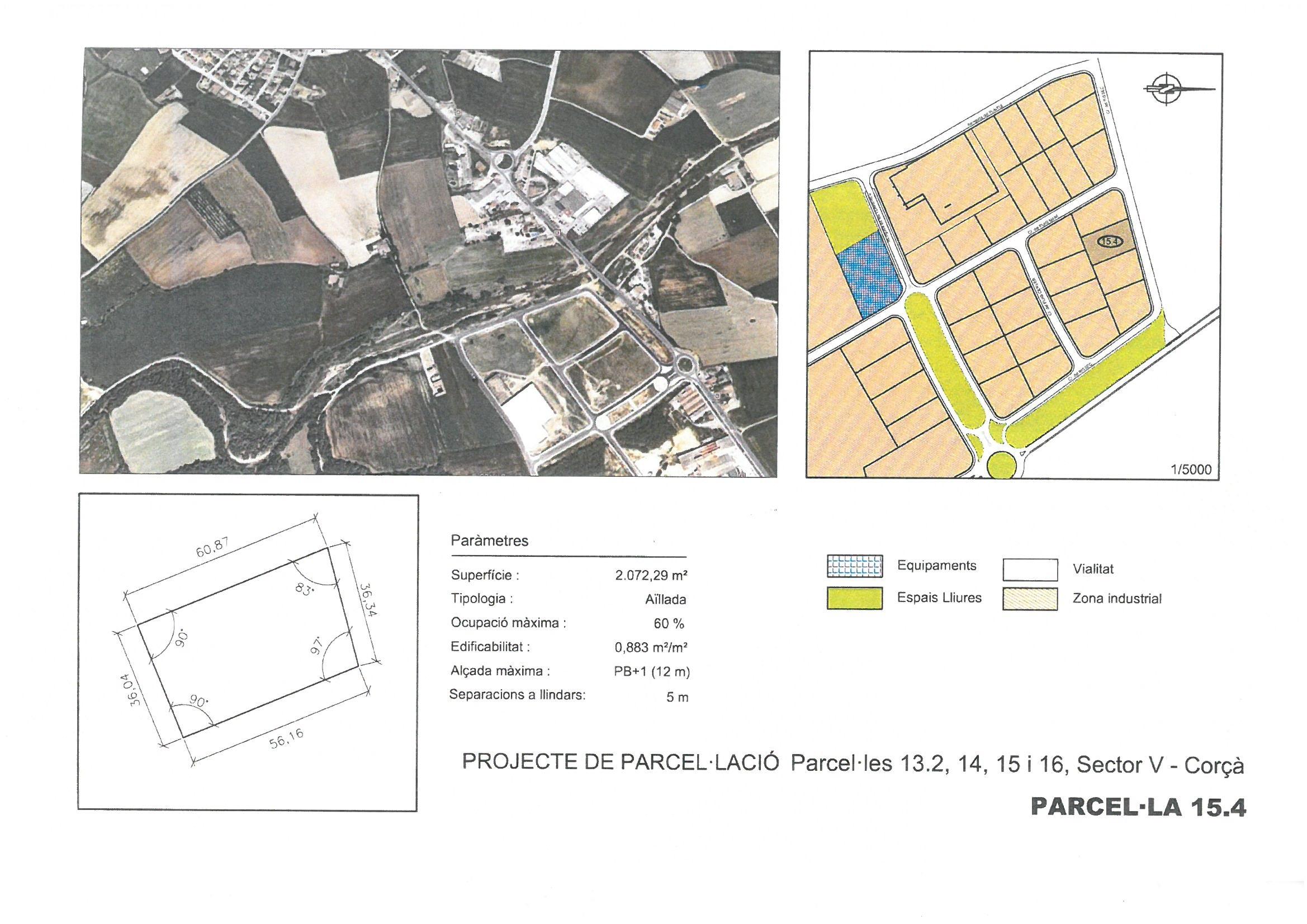 Terme municipal de Corcà, parcel•la 15.4