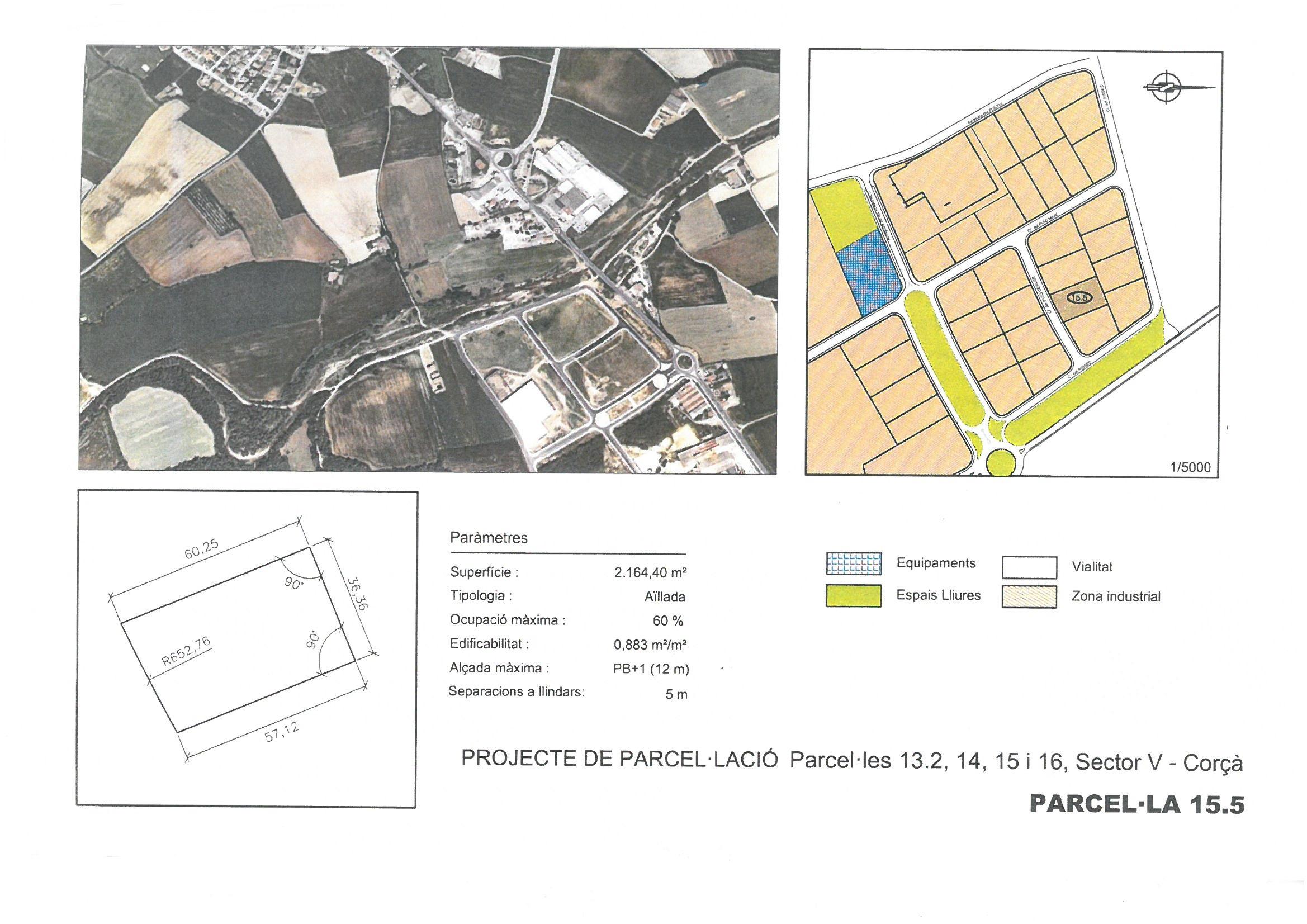 Terme municipal de Corcà, parcel•la 15.5