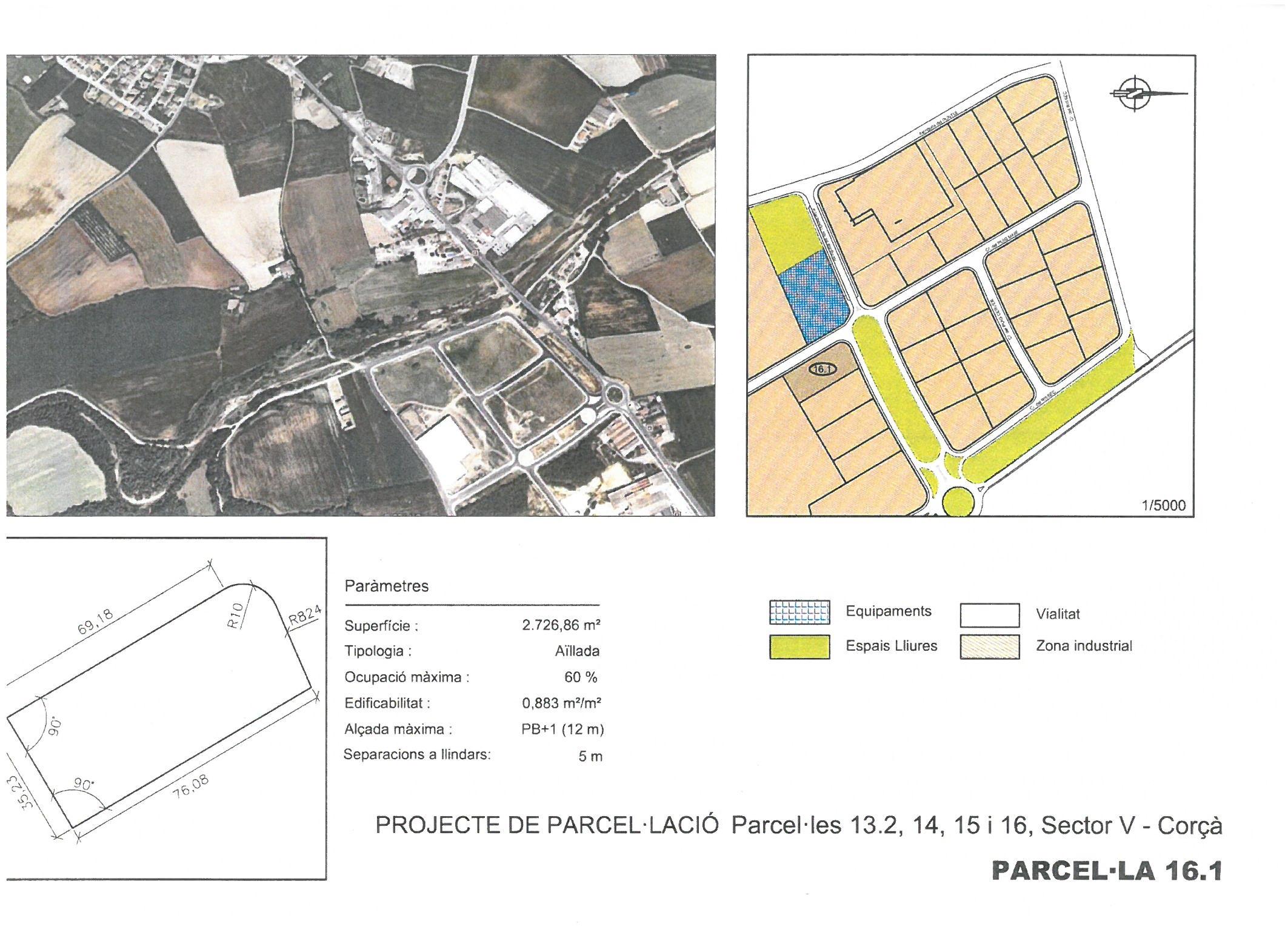 Terme municipal de Corcà, parcel•la 16.1