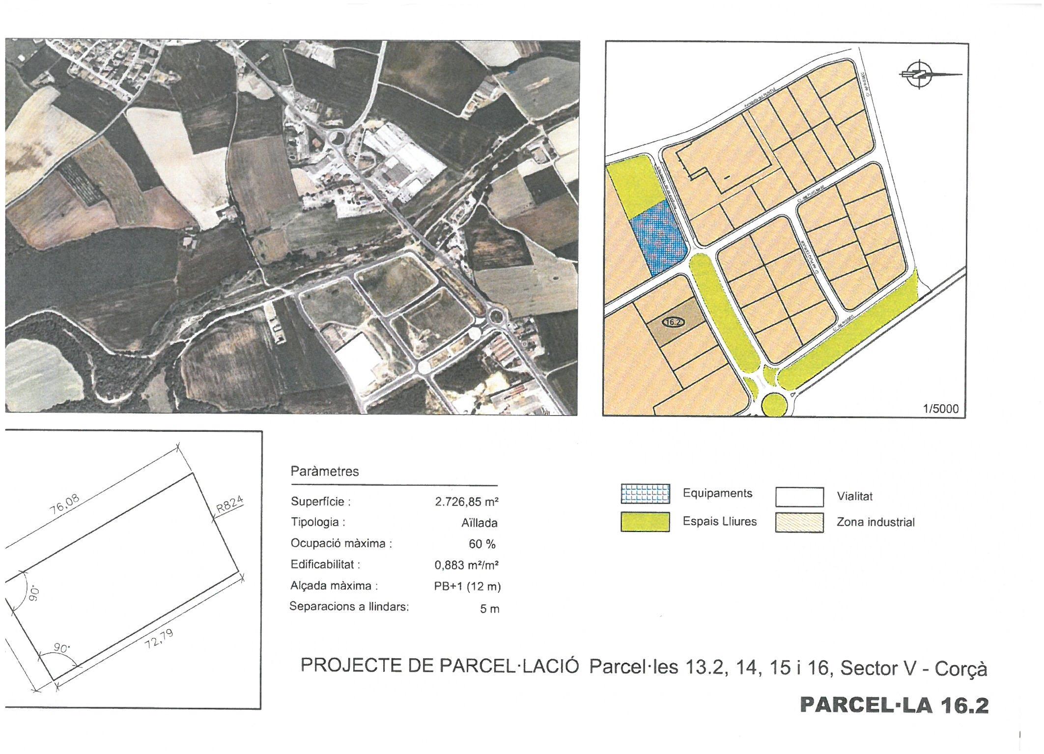 Terme municipal de Corcà, parcel•la 16.2 (VENUDA)